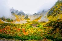 長野県 涸沢カール 紅葉
