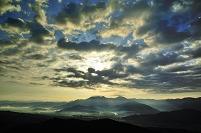 新潟県 八海山 朝霧