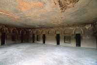 インド アジャンタ石窟群 第12窟 僧院窟