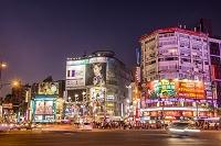 台湾 夜の西門町