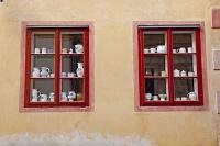 チェコ チェスキー・クルムロフ 窓
