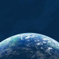 地球と宇宙 CG