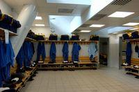 選手控え室