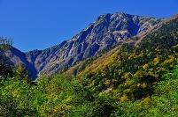 山梨県 南アルプス市 北岳 広河原から北岳