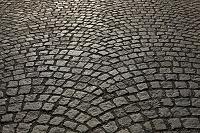 チェコ チェスキー・クルムロフ 歴史地区 石畳の舗道