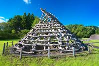 北海道 大船遺跡 竪穴住居