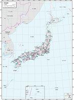 日本全図 交通図