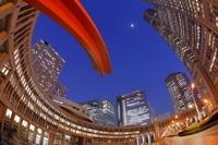 東京都 新宿の高層ビル群の夜景