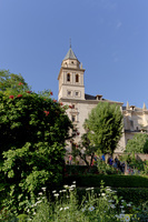 アルハンブラ宮殿 サンタ・マリア・アルハンブラ教会 グラナダ