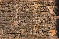 インド サールナート ダメーク・ストゥーパの装飾