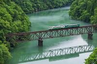 福島県 只見川第三橋梁