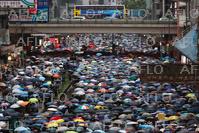 香港「逃亡犯条例」改正巡り混乱続く 170万人が大規模デモ