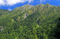 岐阜県 西穂高岳の山陵