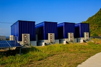 高知県 太陽光発電の蓄電所
