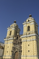 ペルー 旧市街のサン・フランシスコ教会・修道院