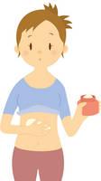 ダイエット-ボディークリーム-女性