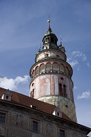 チェコ チェスキー・クルムロフ城の塔