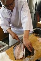 新潟県 加茂市 日本料理『留造』 ヒラメ