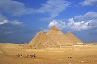 エジプト・カイロ ギザのピラミッド
