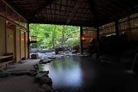 青森県 青荷温泉 混浴露天風呂