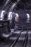 地下鉄のシールドトンネル