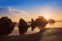 岩手県 朝の浄土ヶ浜