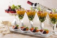 野菜のジュレとパーティー料理