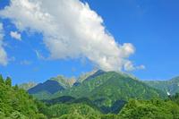 富山県 馬場島から剣岳