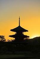 奈良県 法起寺 三重塔