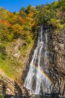 秋田県 秋の一の滝