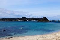 北長門海岸国定公園 角島と砂浜
