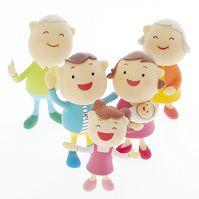 3世代家族のクラフト
