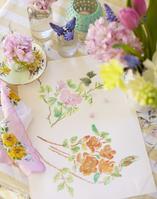 春の花 水彩画
