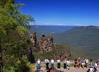 オーストラリア ブルーマウンテンズ国立公園 スリーシスターズ