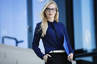 外国人ビジネス女性