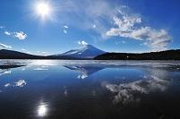 山梨県 富士山 山中湖