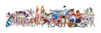 国旗とスポーツ2