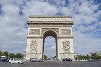 パリの凱旋門 ブンス パリ