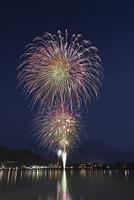 山梨県 富士山と河口湖湖上祭 大・花火大会