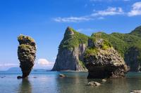 北海道 えびす岩・大黒岩
