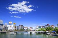 福岡県 中洲の街並み