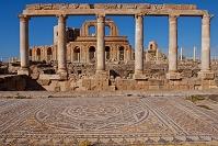 リビア サブラータの古代遺跡