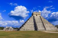 メキシコ チチェン・イッツァ エル・カスティージョと戦士の神殿
