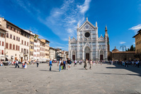 イタリア フィレンツエ サンタ・クローチェ聖堂