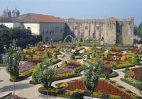 ポルトガル ブラガ サンタ・バルバラ庭園