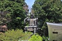 岡山県 安養寺の毘沙門天像