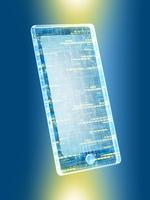 回路デザインのスマートフォン