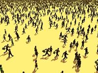 群衆のイメージ