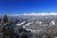 長野県 厳冬の北アルプス