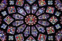 フランス シャルトル ノートルダム大聖堂 北バラ窓